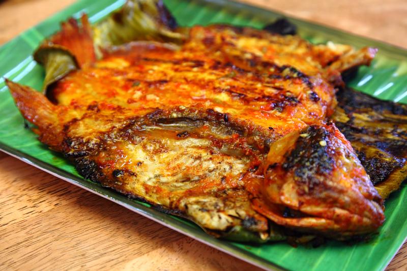 Fend-Tilapia-Bakar Fend Ikan Bakar