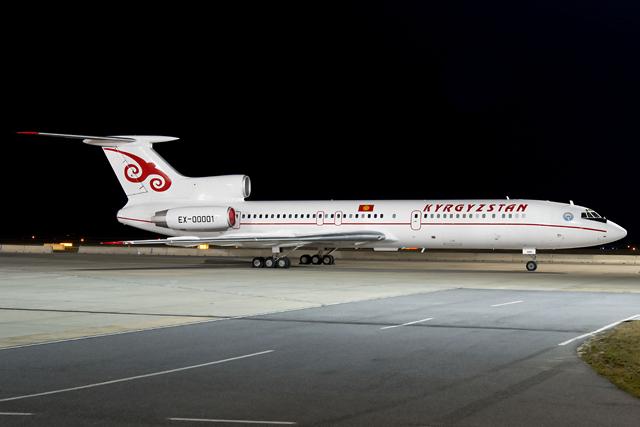 2015.03.23. VIE/LOWW - Kyrgyzstan Tu-154M