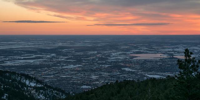 Daybreak At Mountains' Feet