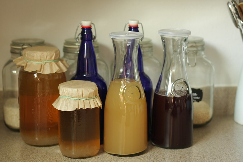 water kefir galore