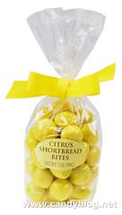 Citrus Shortbread Bites