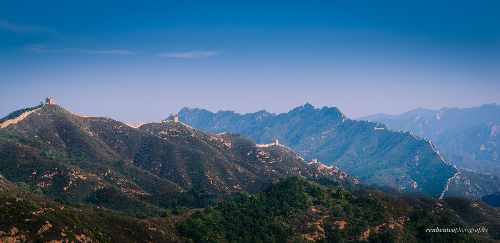 Great Wall of China, Jinshanling