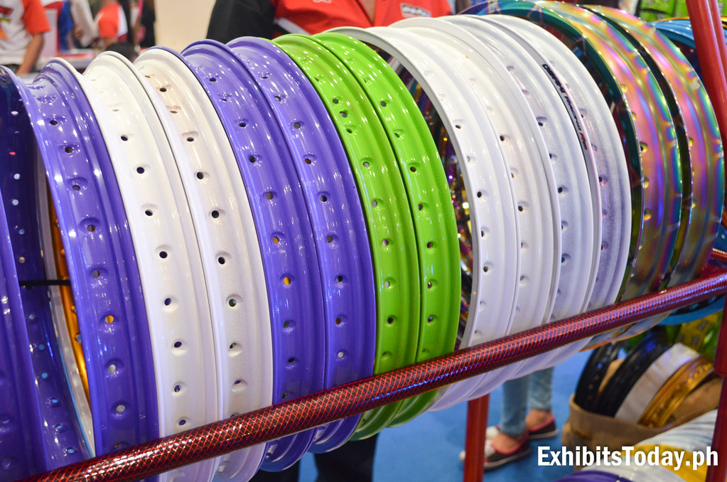 Colored Motor Rims