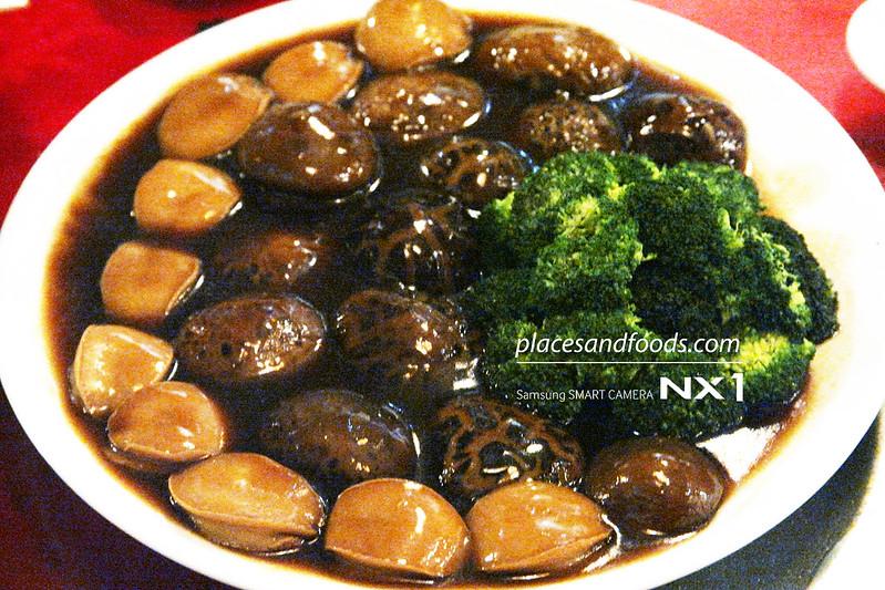 CWZJ Cuisine (The Home of Tea Kings) mushroom abalones