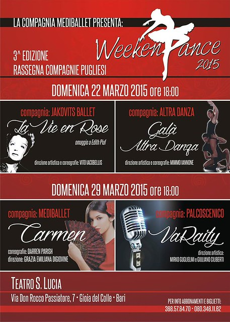 Terza Rassegna Weekdance 2015