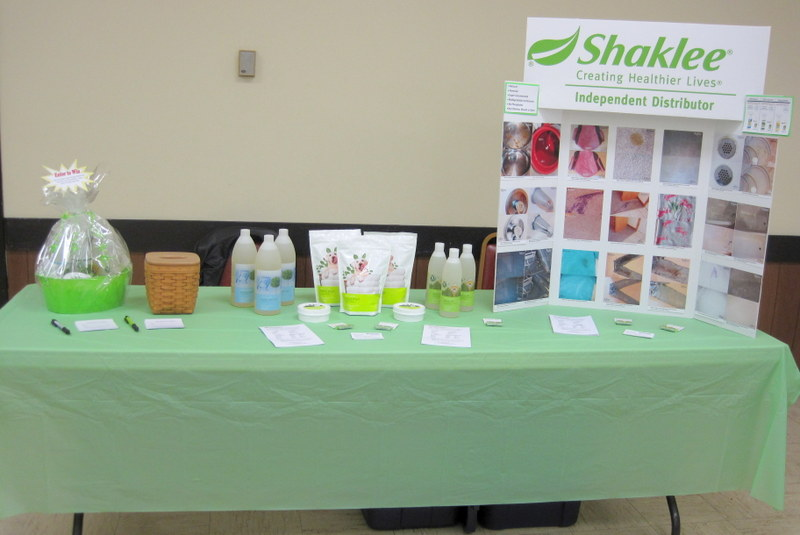 shaklee booth