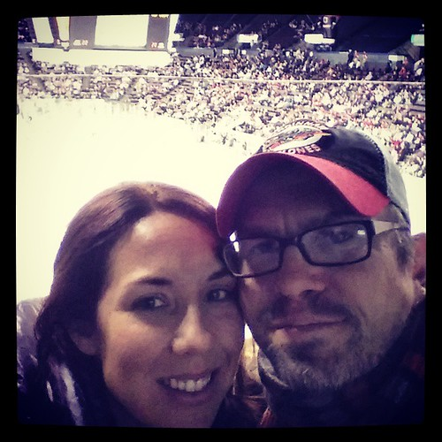 Me and @genmae5 at our 18th @cincycyclones hockey game of the season...