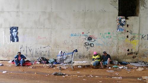 CDM and Noname Stencil, crackolandia Bandeirantes, Sao Paulo