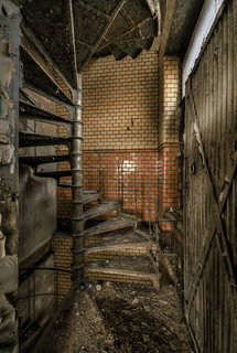 dangerous stairs - Bambina's  birth-place