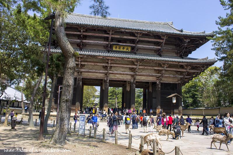 奈良 NARA - 東大寺 Tōdai-ji - 南大門 Nandaimon