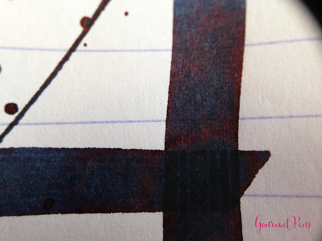 Ink Shot Review Sailor Bung-Box 4B Blue Black @bungbox (7)