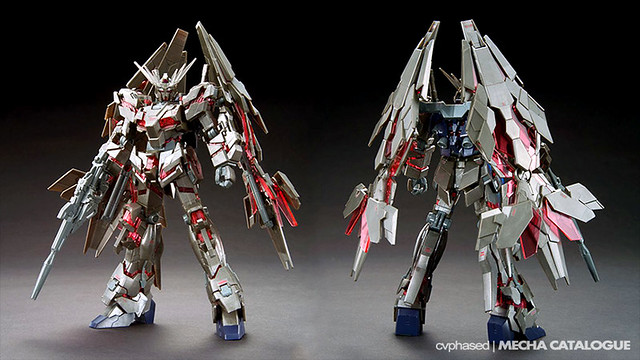 HGUC Unicorn Gundam 03 Phenex Type RC [Destroy Mode] Ver. GFT SILVER