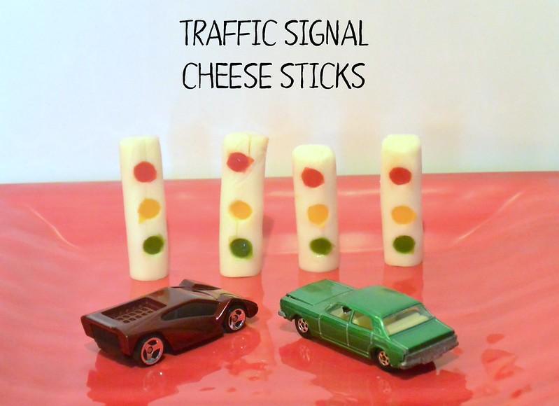 Traffic Signal Cheese Sticks