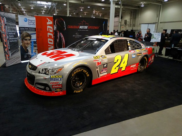 Jeff Gordon #24 3M Chevrolet SS at 2015 Motorama