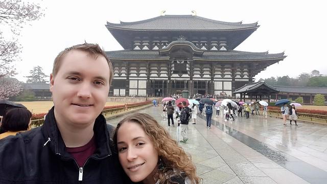 Selfie at Daibutsuden