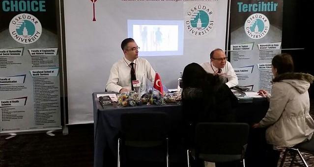 Üsküdar Üniversitesi, Azerbaycan'da üniversite adaylarıyla buluştu