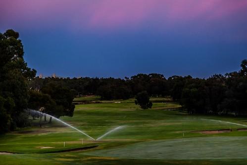 australia golfcourse westernaustralia pelicanpoint sanctuarygolfresort sunsetpelicanpointwesternaustraliaaustraliaau
