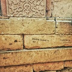 Love message at Makli #Graveyard click of M Bilal M