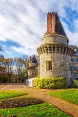 Tour du château de Dormans