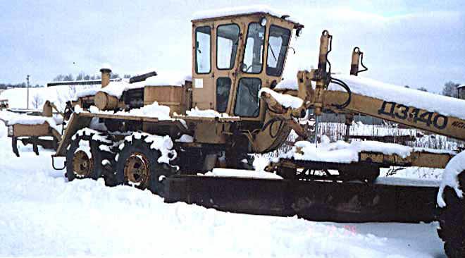 автогрейдер ДЗ-140
