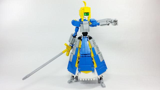Lego Fate Saber