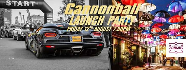 Cannonball Ireland 2016 Launch Party this Friday in Dublin.