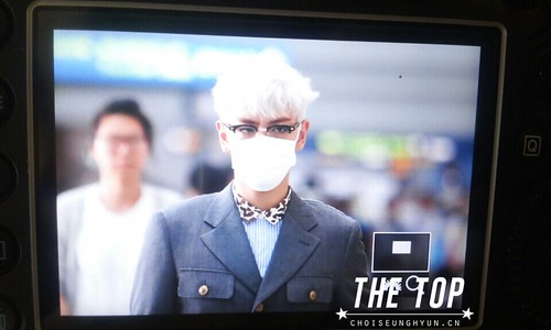 Big Bang - Incheon Airport - 07aug2015 - The TOP - 03