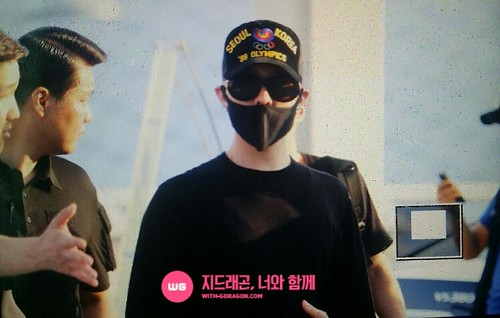 YB Dae GD departure Seoul to Bangkok 2015-07-10 003