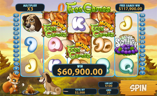 free Foxy Fortunes more free games