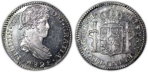 1821 Guatemala One Real
