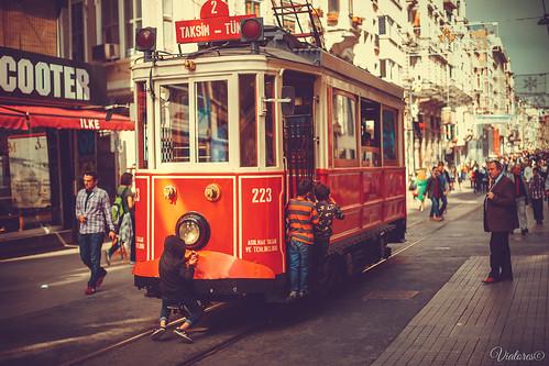 Istiklal Street. Istanbul. Turkey