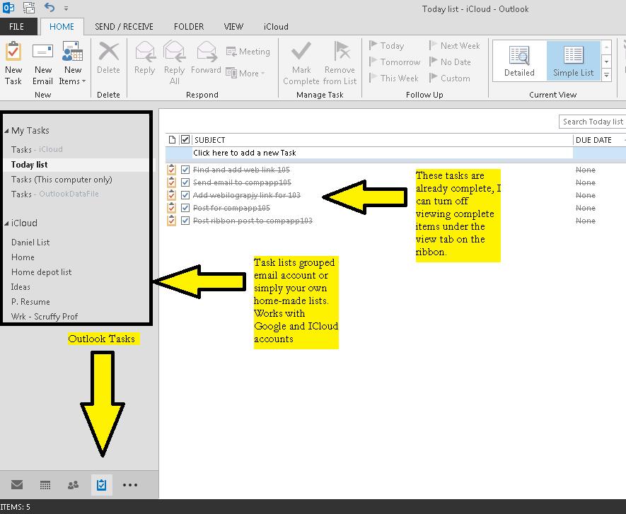 Outlook Tasks Sliding Puzzle Game