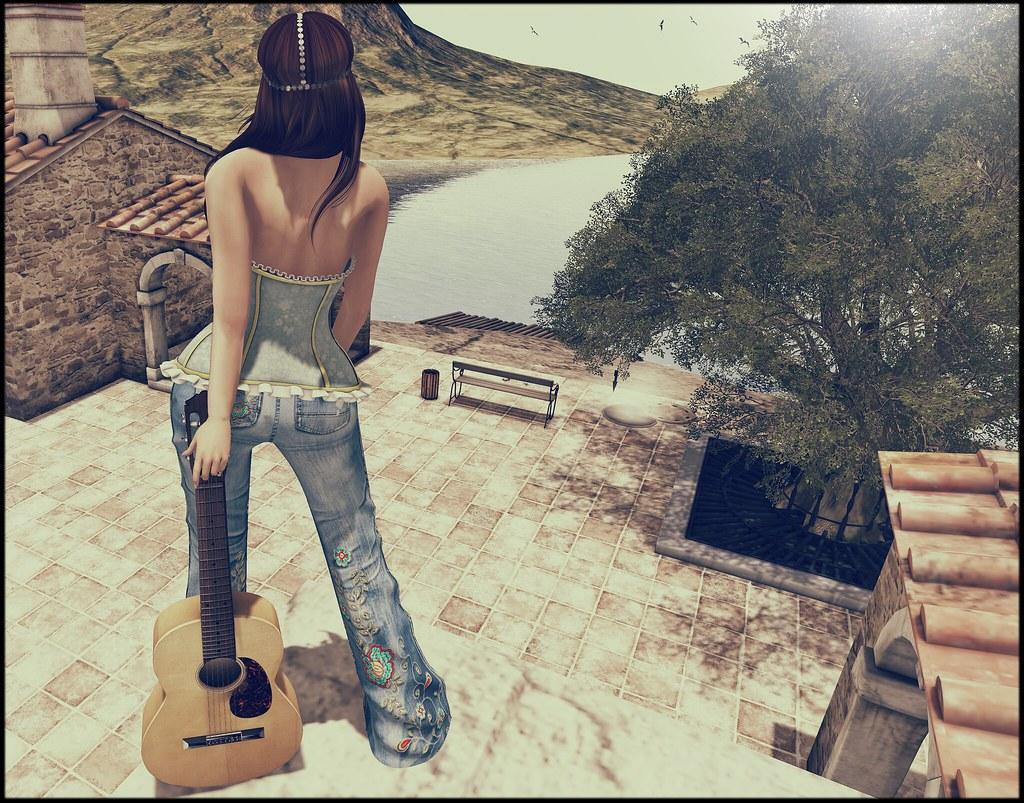 Escucha mis canciones ya que tu no tienes de las tuyas