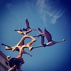 Walk like an egipcian. #fallas2015 #ninots #moñecos #Egipt #birds.