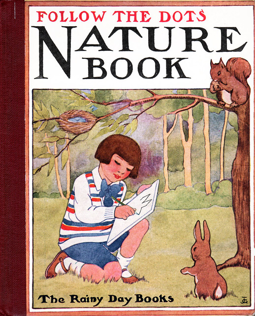 Follow the Dots Nature Book front cover