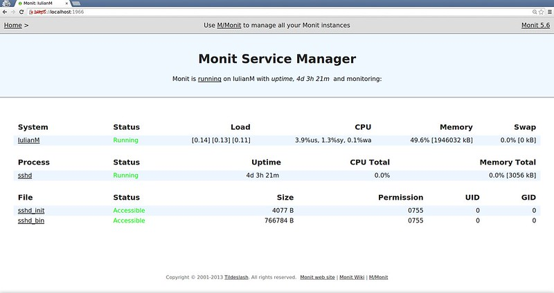 How to set up server monitoring system with Monit - Xmodulo