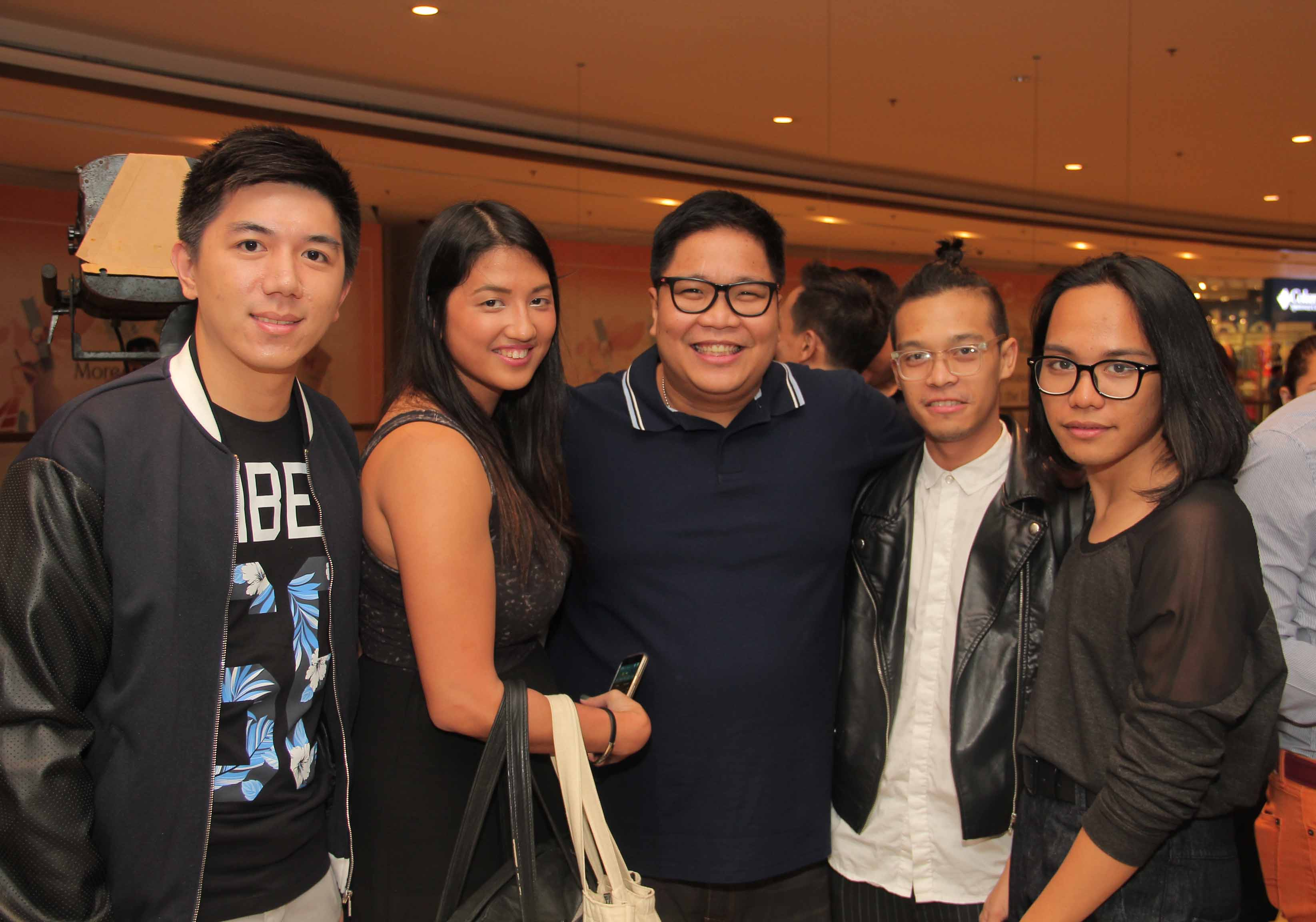 Native's Brand Exec. PJ Chua, Travel Now's Klara Anonuevo, Celebrity Host Jugs Jugueta, Mega's Angelo de Cartagena & Jeff Fronda