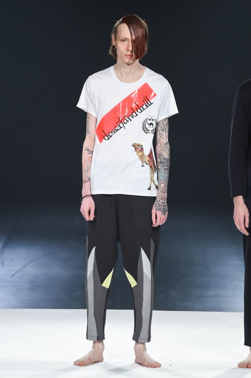 FW15 Tokyo yoshio kubo014_Milos Lukacek(Fashion Press)