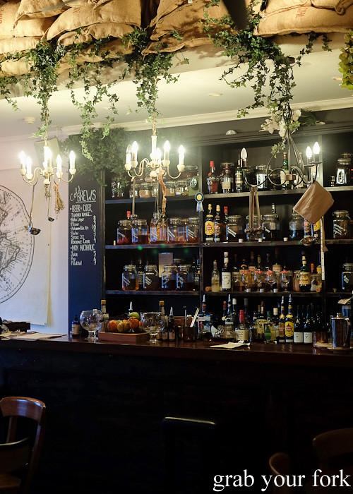 Bar at CGR Merchant and Co, Wellington