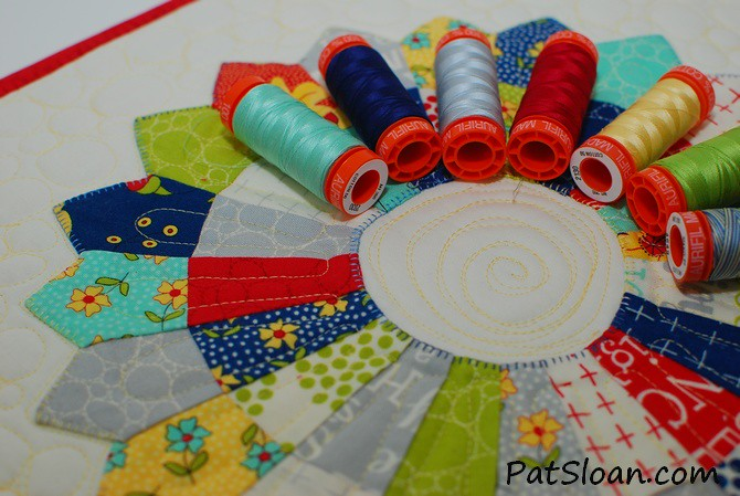ENTER TO WIN pat sloan exclusive Moda and Aurifil Kit