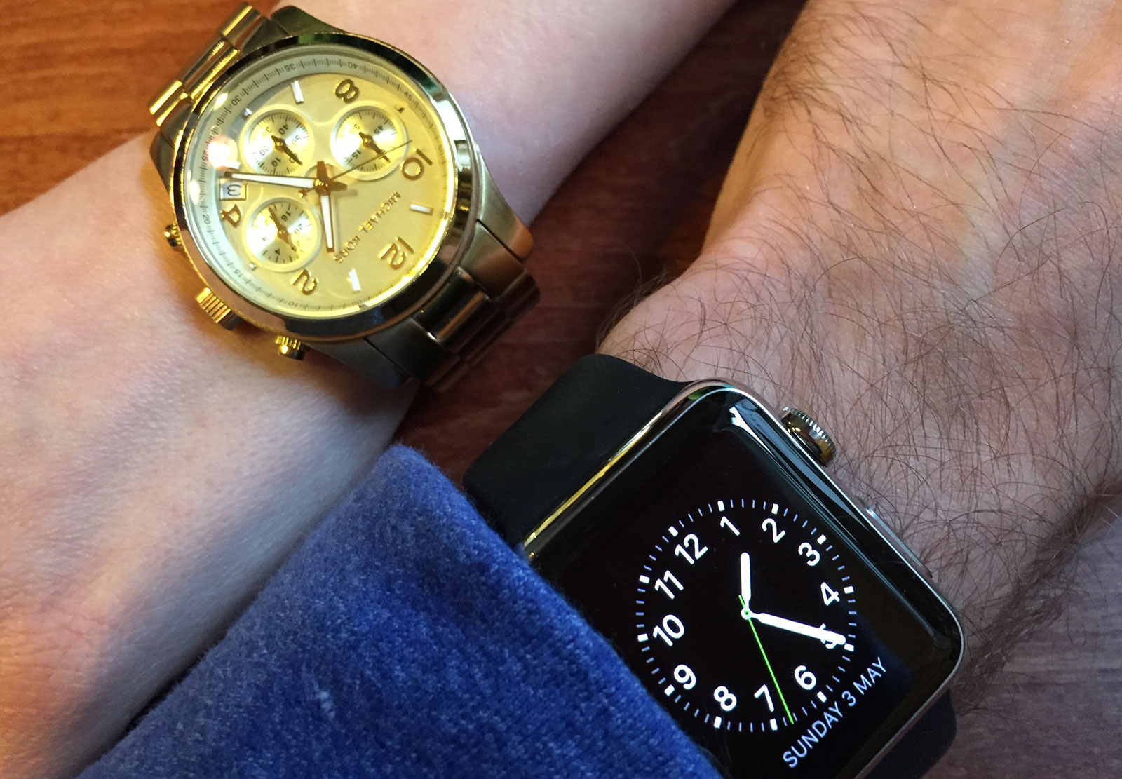 Apple Watch with Lauren's Michael Kors