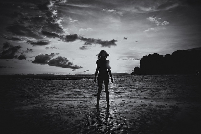 certain secrets she could only relay to the low tide~ Krabi