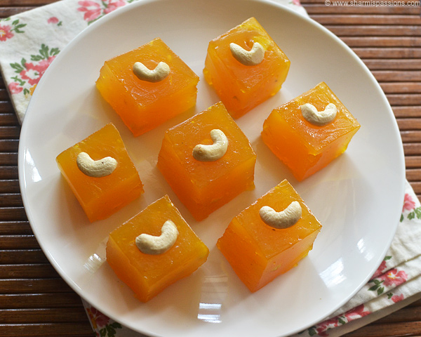 Custard Powder Halwa Recipe