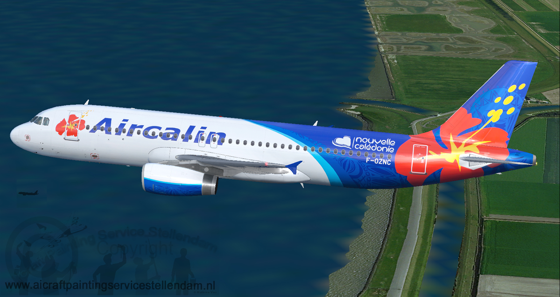 ProjectAirbusA320-232AirCalin_F-OZNC5