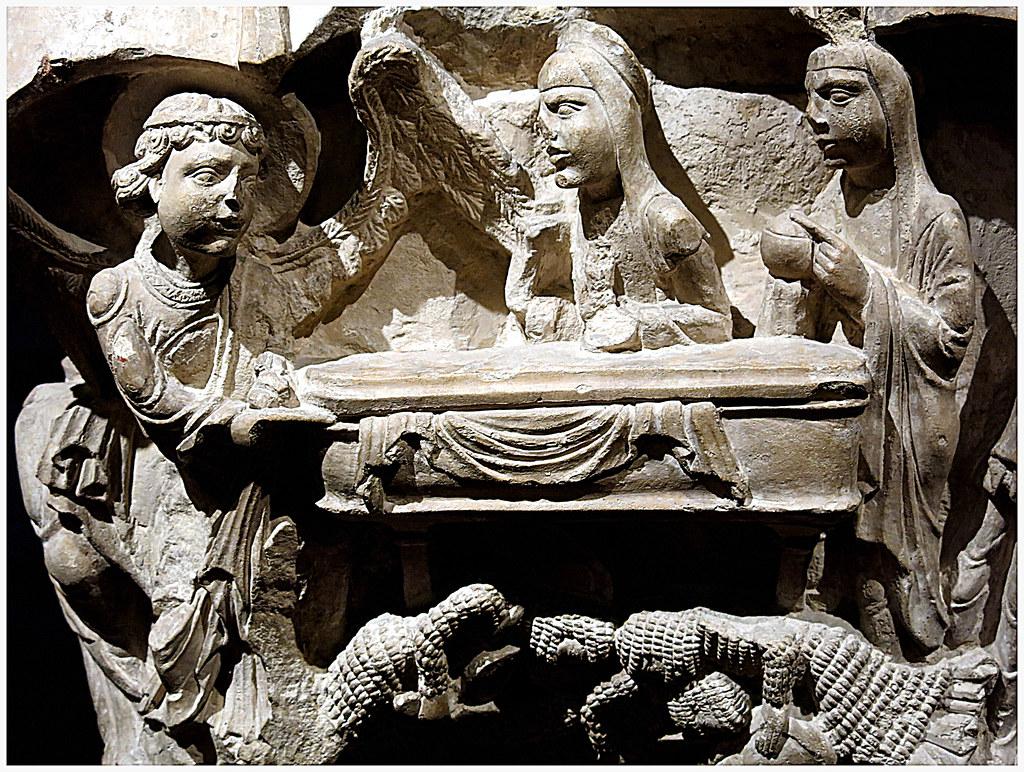 La Resurrección (capitel románico)