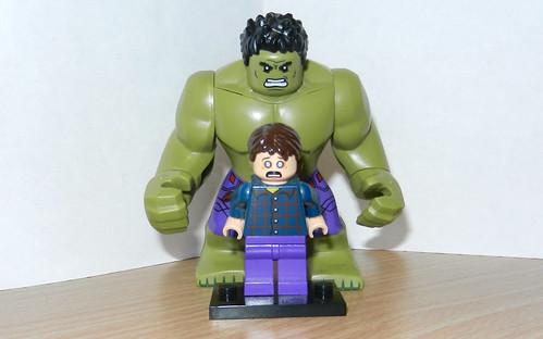 Lego Custom Bruce Banner