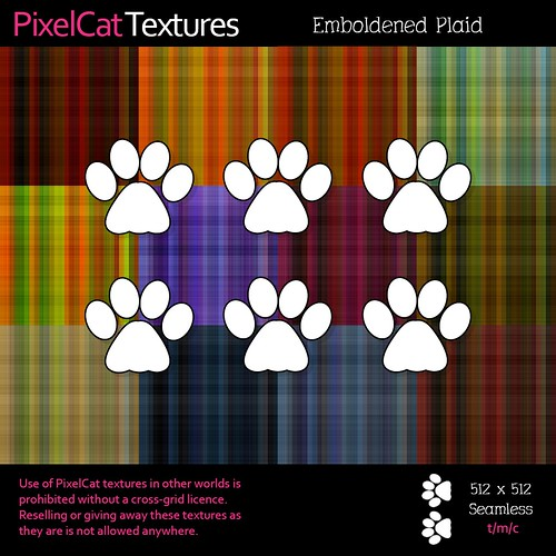 PixelCat Textures - Emboldened Plaid