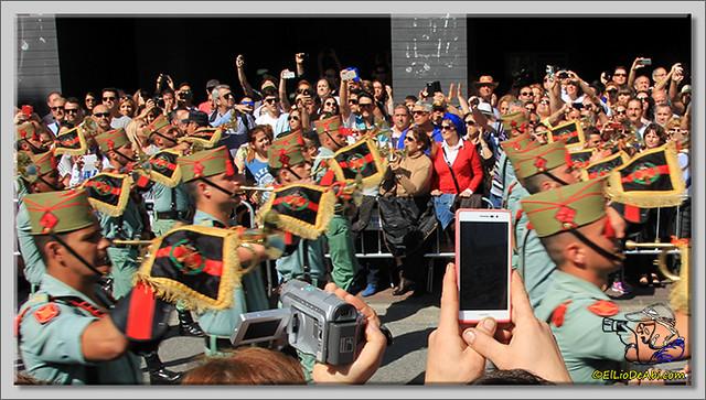 2 Semana Santa en Málaga. Cristo de Mena y Legionarios