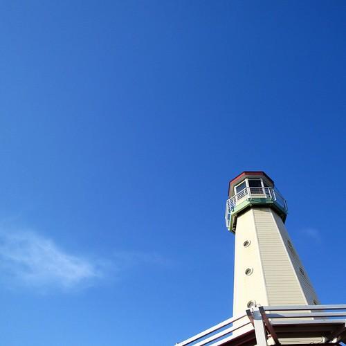 良い天気だったねー。ほんと、クルージング日和でした。教習船だけどね。 #ヤマハマリン