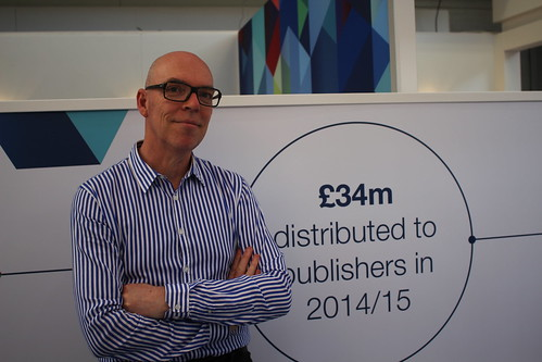 Paul Rollins (The Copyright Licensing Agency) - London Book Fair 2015